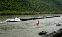 Dutch Rhine barge 'Duality'