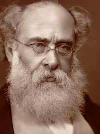Writer Anthony Trollope, 1815-1882