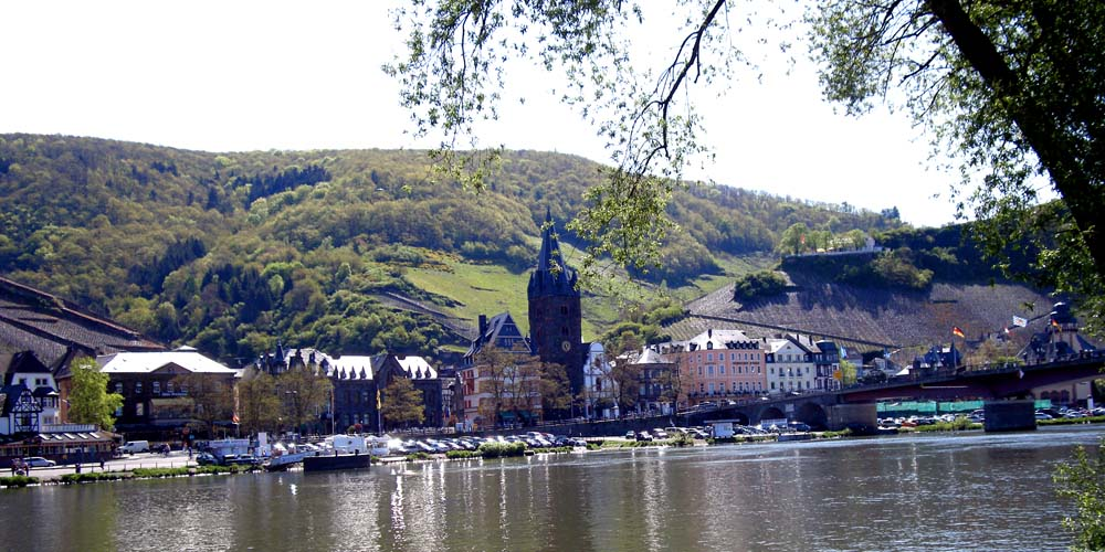 Bernkastel on the Mosel