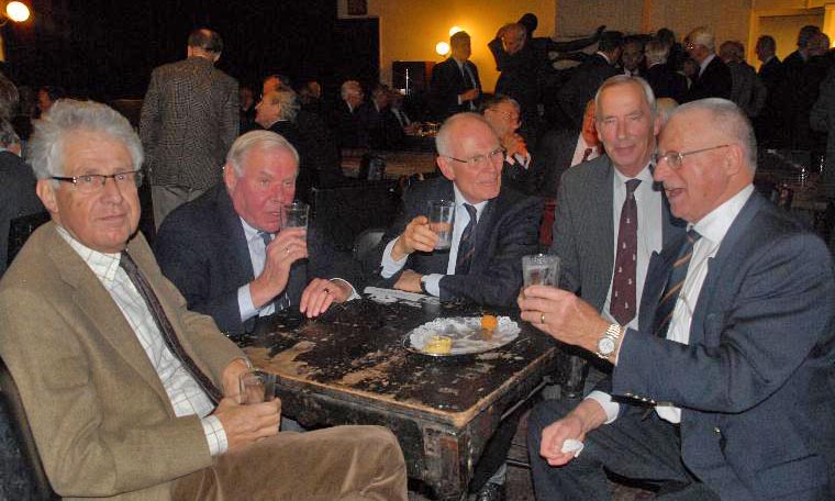 Celebrating 54 years of friendship,Leiden 2009