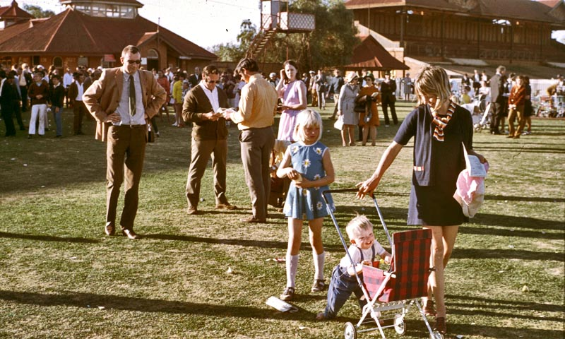 'At the Kalgoorlie Races, 1970